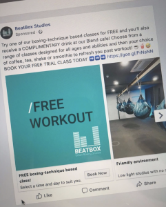 BeatBox Studios_Facebook Advertising